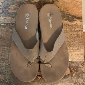 Like New Spenco Orthopedic Sandals, 10